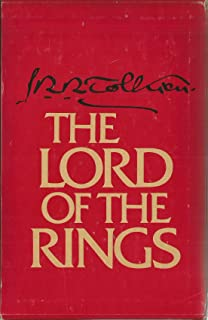 Lord Of The Rings Three Volume Boxed Set comprising The Fellowship Of The Ring, The Two Towers, and The Return OF The King FIRST PRINTING Of The Revised Second Edition Oversized Papercover Set