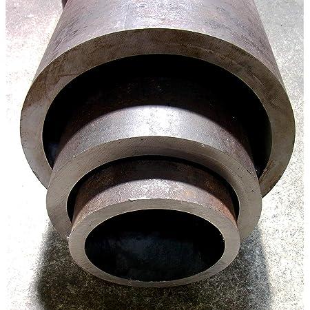 Nahtlos Rundrohr Stahrohr schwarz L/änge 500mm 25x4,5mm
