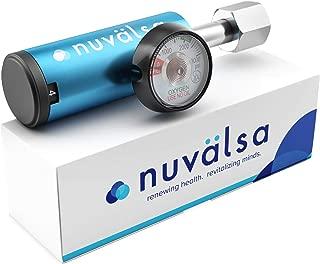 Nuvälsa Low Flow Ozone Therapy Oxgen Regulator - German Engineering and Precision (3,000 PSI) (Industrial CGA 540)