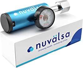 Nuvälsa Low Flow Ozone Therapy Oxgen Regulator - German Engineering and Precision (3,000 PSI) (Industrial CGA 540)