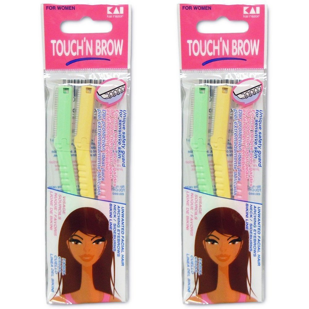 TOUCH BROW Eyebrow Razor Pack