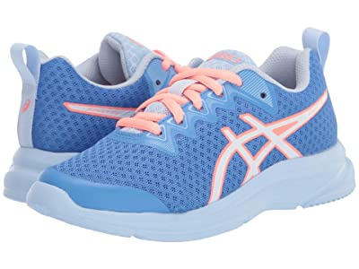 ASICS Kids Soulyte (Little Kid/Big Kid) (Blue Coast/White) Girl