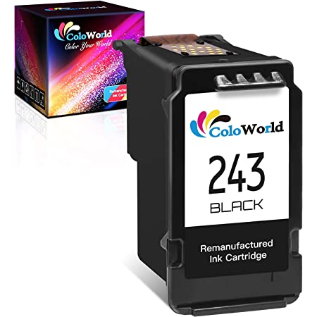 1 Pack ATOPINK Remanufactured Ink Cartridge Replacement for Canon PG-243 243 PG-245 245 245XL Work with Canon Pixma TR4520 TR4522 TR4527 MG3022 MG2522 MG2922 MG2920 TS202 MX492 iP2820 MG2520 TS3322