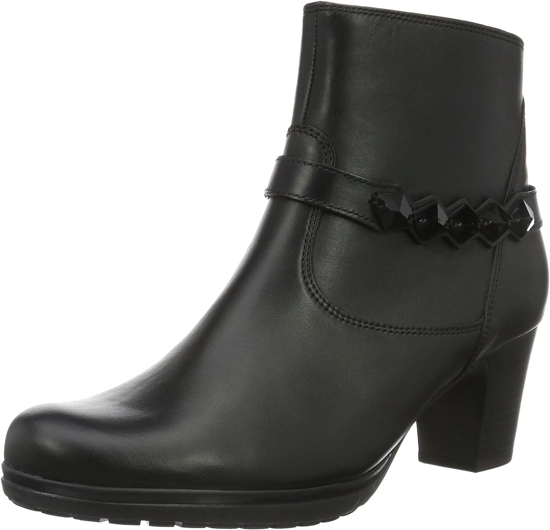 Gabor Women Ankle Boots Black, (black (Micro)) 52.981.27