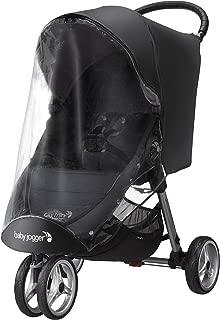 baby jogger (ベビージョガー) 純正アクセサリー ウェザーシールド (シティミニ&シティミニGT専用レインカバー) ブラック 2022351