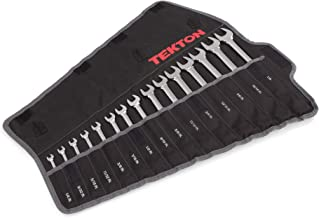 TEKTON Combination Wrench Set, 15-Piece (1/4-1 in.) – Pouch | WRN03293