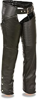 Milwaukee Leather Ladies Biker Chaps With Laces On The Back