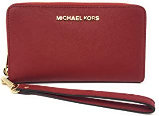 d59643cb85c7 Michael Kors Women's Jet Set Travel Large Smartphone Wristlet
