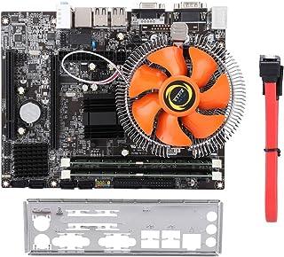 Tangxi Placa Base para computadora de Escritorio, G41 4-Core DDR3 1333/1066 Placa Base para computadora de Escritorio para gráficos de Chip Integrados Intel G41 con batería