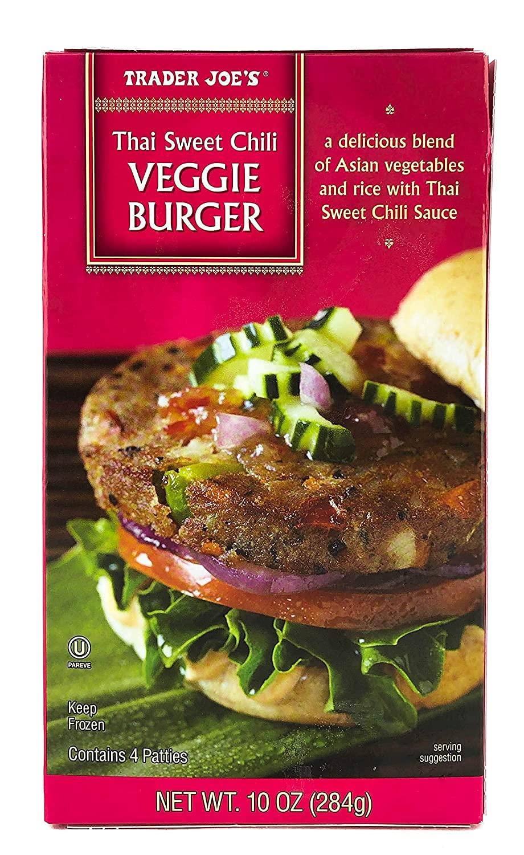 Trader Joe's Thai Sweet Chili Veggie Meatless Free Shipping Cheap Bargain Gift Ranking TOP10 Asian Burge Style