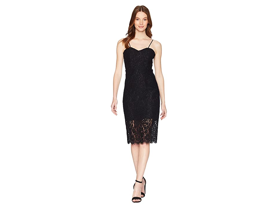 Bardot Pierre Lace Dress (Black) Women