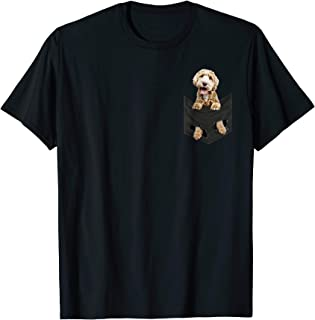 Dog in Your Pocket Labradoodle t shirt tee shirt