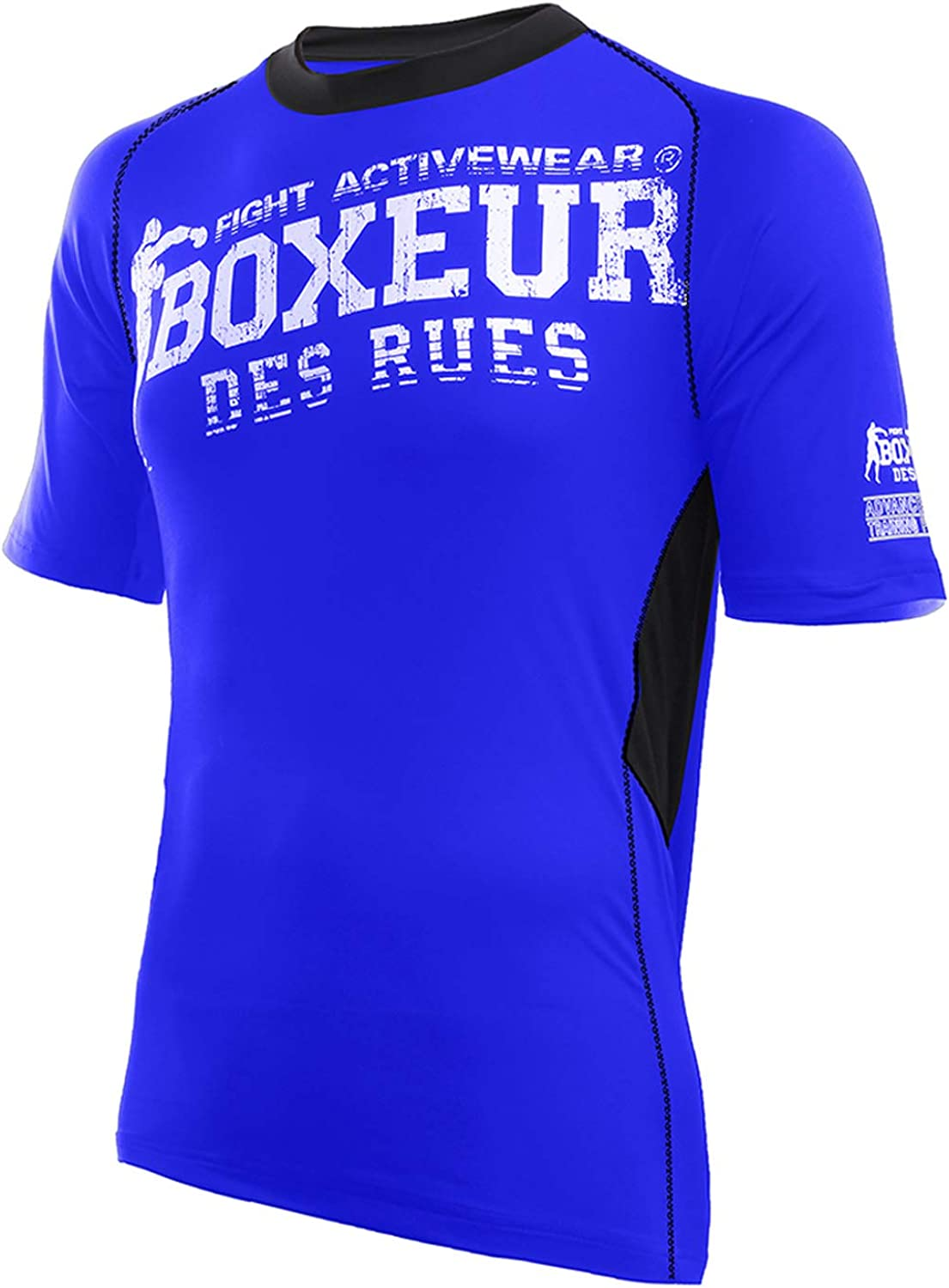 Woman BOXEUR DES RUES Lady Ss T-Shirt In Dryarn with Front Big Logo