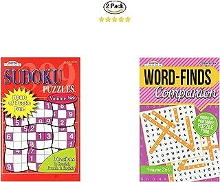 2 Large Print Playbook Game Word Strategy Game Senior Word Finder Old People Game Sudoku Easy Hard Daily Sudoku Challenge Word Finder Sudoku Word Finder