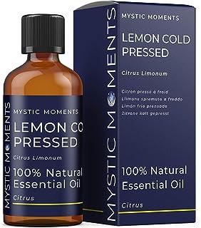 Mystic Moments Huile Essentielle de Citron pressée à Froid - 100ml - 100% Pure