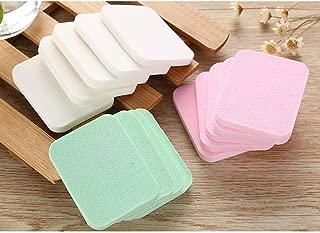 40 Pcs Latex Free Makeup Sponges for Full Coverage Powder, Cream, Liquid Foundation Cosmetics - Long Lasting, Disposable Beauty Blender Foam Applicator Puffs for Sensitive Skin (40pcs/2bags)
