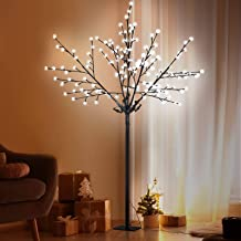 1.8M LED Blossom Twig Tree Christmas Holiday Décor Waterproof White Halloween Lighted Decoration Jingle Jollys Outdoor Ind...