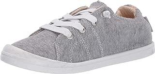 Roxy Women's Bayshore Slip On Sneaker Shoe, New Grey ash 9 M US