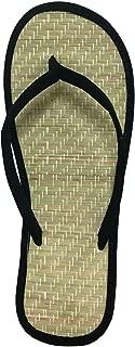 Women's Bamboo Flip Flop Sandals Beach Summer Shoes 1212