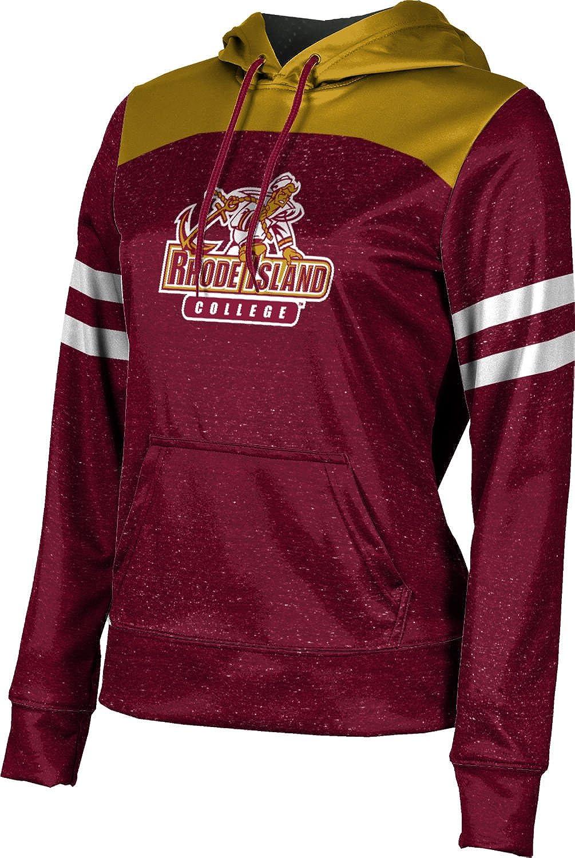 ProSphere Rhode Island College Girls' Pullover Hoodie, School Spirit Sweatshirt (Gameday)