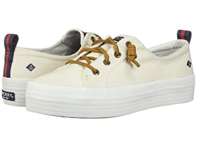 Sperry Crest Vibe Triple Canvas (White) Women