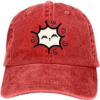 LeoCap Llama Baseball Cap Unisex Washed Cotton Denim Hat Adjustable Caps Cowboy Hats