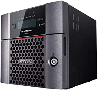 BUFFALO Terastation WS5220DN Windows Storage Server 2016 Desktop 4TB NAS Hard Drives Included