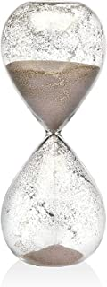 Hourglass Sand Timers - Biloba Hourglass Sand Timer, 8.1 Inch Rose Red Sand Timer (60 Mins, Brown)