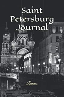 Saint Petersburg Journal: Unique American Bison, Buffalo Journal To Write In, Universal Lined Notebook For School Kids And...