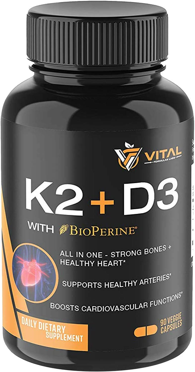 Vitamin K2 Choice MK7 100mcg with D3 Excellence 5000 Month 3 – IU