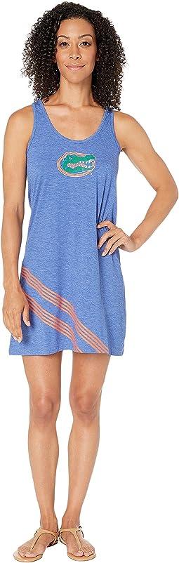 Laundry By Shelli Segal Blouson Racerback Dress True Blue