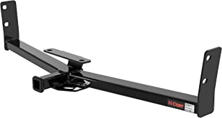 CURT 12291 Class 2 Trailer Hitch, 1-1/4-Inch Receiver Black 1-1/4