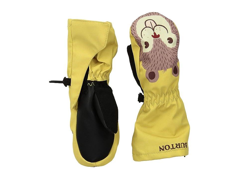Burton Kids Minishred Grommitt Mitt (Toddler) (Sun Glow) Snowboard Gloves