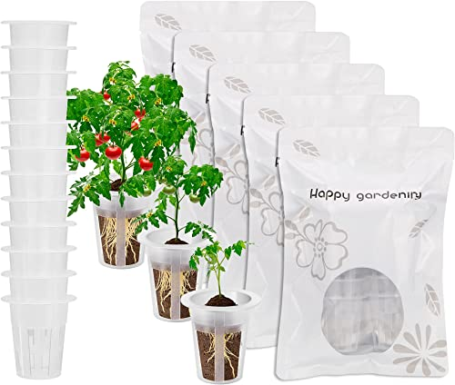 new arrival VIVOSUN 60 Pieces Grow Basket Plant Replacement Basket wholesale Plant wholesale Pod for Grow Sponges outlet sale