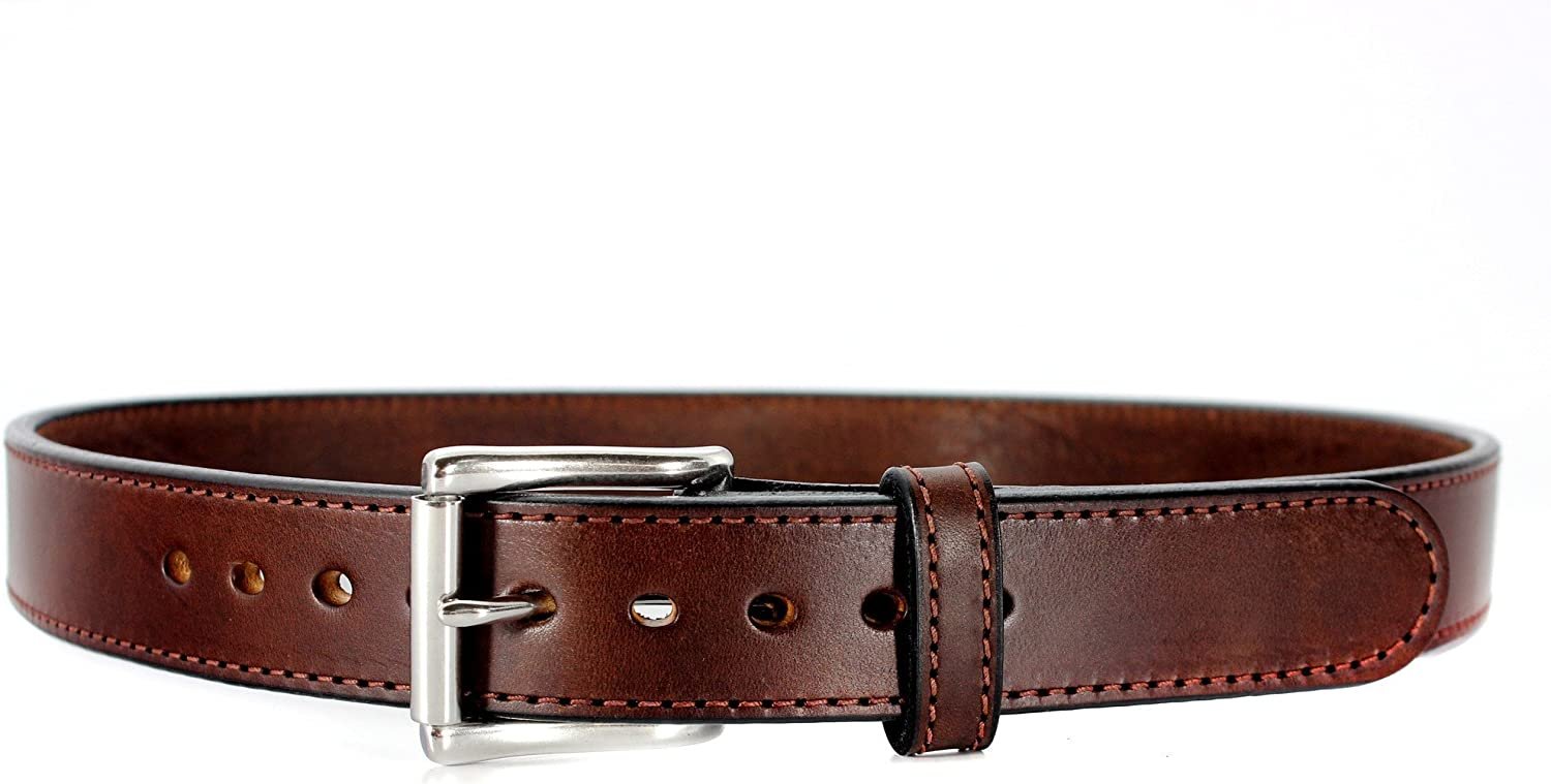 Steel Core 2021 spring and summer new Reinforced Leather Gun Belt for Sales Belts Con - Thick