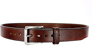 Daltech Force Bullbelt Gun Belt Steel Core - Ultimate Thickness - CCW - Concealed Carry USA - No Fillers - 100% Full Grain Leather