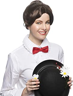 Mary Poppins Nanny Color Brown - Enigma Wigs Gibson Edwardian Early 1900 Female Andrews Theater Blunt Returns Bundle MaxWigs Costume Wig Care Guide