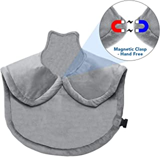 Electric Heating Pad-Shoulder Heating Pad -Wrap Heating Pad for Neck and Shoulders Large Heating Pad for Back Adbominal Hand Foot Legs Waist with Fast Heating Auto Shut Off and 6 Heating Level