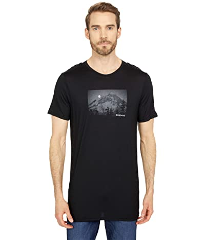 Smartwool Merino Sport 150 Mount Hood Moon Graphic Tee (Black) Men