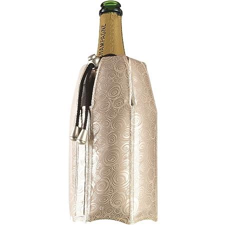【正規輸入品】vacu vin シャンパンクーラー プラチナ柄