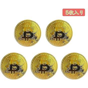 Takelablaze ビットコイン金メッキBitcoin仮想通貨 コイングッズギフトBTCコインアートコレクションフィジカル ゴールド