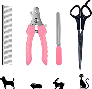 Zofey Heavy Durability Professional Animal Nail Cutter Clipper Grinder Trimmer Filer for Small Medium and Large Dogs Puppi...
