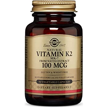 Solgar Vitamina K2 (MK-7) Natural 100 µg Cápsulas vegetales ...
