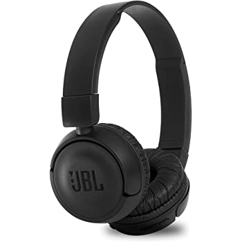JBL T460BT Extra Bass Wireless On-Ear Headphones with 11 Hours Playtime & Mic (Black)