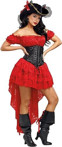 hasta un 70% de descuento DreamGirl DreamGirl DreamGirl Disfraz de pirata 10661para mujer, pequeño  Envío rápido y el mejor servicio