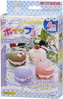 Whipple W-18 Pink Cream Macaron Set Japanese Sample/replica Food Making Kits
