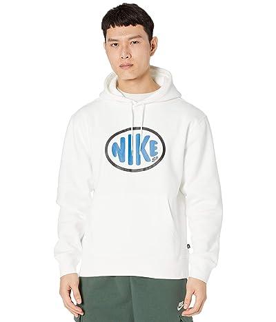 Nike SB SB Y2K One Off Hoodie (White/Signal Blue) Men