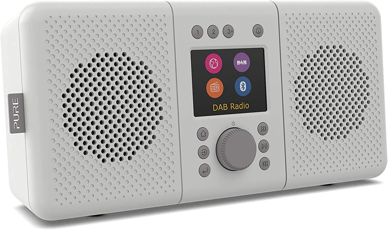 Elan Connect All In One Stereo Internetradio Mit Dab Und Bluetooth 5 0 Dab Dab Ukw Radio Internetradio Tft Display 20 Senderspeicher Musikstreaming Podcasts Stone Grey Heimkino Tv Video