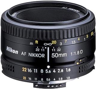 Nikon AF NIKKOR 50mm f/1.8G Lens for Nikon DLSR Cameras, AF-S 50/1.8G