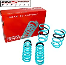 GODSPEED TRACTION-S LOWERING SPRINGS FOR BMW 3 SERIES 2006-2011 E90 328I 335I ( LS-TS-BW-0002 )